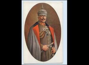 T2699/ King Georg + Queen Mary, Kaiser Wilhelm + Kaiserin Victoria London AK
