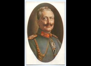 DP236/ Kaiser Wilhelm mit Ehrenzeichen schöne AK ca.1914
