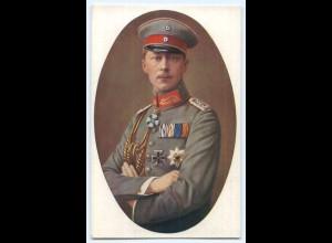 T2740/ Kronprinz Wilhelm mit Ehrenzeichen schöne AK ca.1914