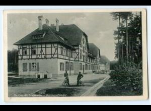 Y5291/ Truppenübungsplatz Grafenwöhr Mannschaftslager AK 1936
