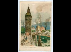 T2594/ M. Zeno-Diemer Litho AK Lindau Verlag: Ottmar Zieher ca.1900