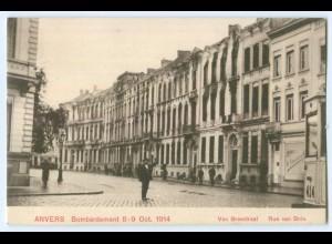 T2984/ Belgien Anvers Rue van Brée AK