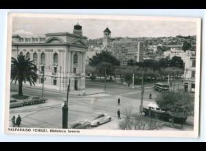 T3185/ Valparaiso Chile Biblipteca Severrin AK 1963