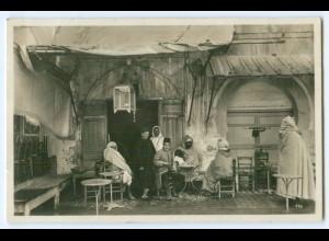 Y5284/ Orient Orientalisches Cafe Foto AK ca.1930