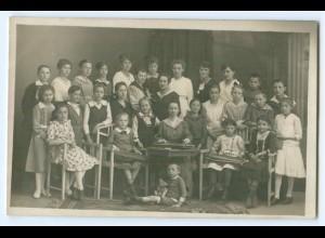 T3312/ Jugend-Chor Zither-Spielerinnen Foto AK Musik ca.1920