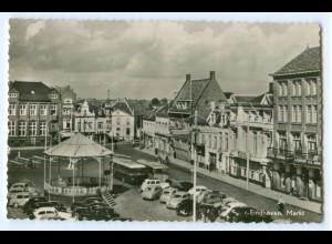 T2912/ Niederlande Eindhoven Markt AK