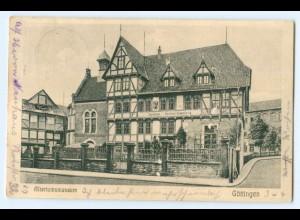 T2895-3400/ Göttingen Altertumsmuseum 1911 AK