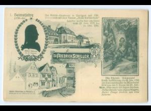 T3430/ Friedrich Schiller 100. Todestag - 1. Heimatjahre AK 1905