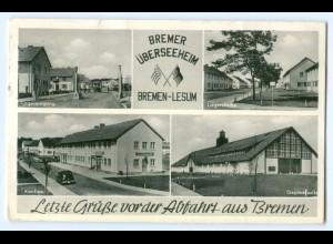 T2932/ Bremen-Lesum Bremer Überseeheim AK