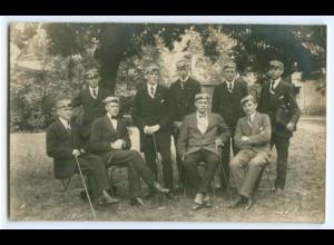 T3224/ Studenten Studentika Foto AK ca. 1920