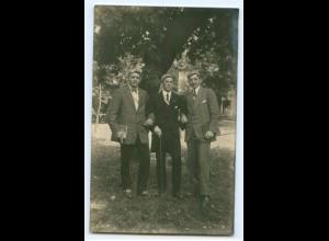 T3225/ Studenten Studentika Foto AK ca. 1920