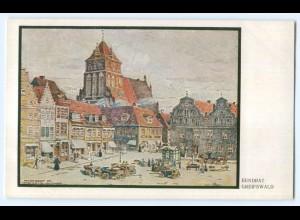 T3269-174./ Greifswald Künstler AK 1911 Verlag: Teubner