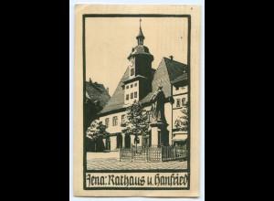 T3389-073./ Jena Rathaus u. Hanfried AK 1921