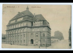 T3390-084./ Reichenbach i.V. Gewerbe-Schule AK 1920