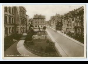 T3391-084./ Reichenbach i.V. Weinhold Straße Foto AK 1931