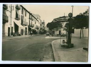 T3397/ La Junquera - Calle Principal AK 1961 Spanien