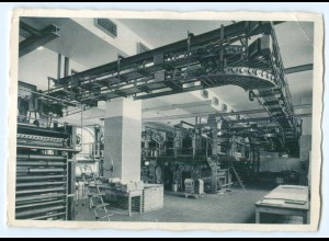Y4668/ Hamburg Pressehaus Rotationssal des Hamburger Tageblatt AK ca.1935