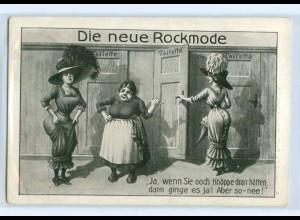T3647/ Die neue Rockmode AK Toilette Mode AK 1910