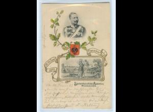 T3671/ Hannover Landwirtschaftliche Ausstellung 1903 Kaiser Wilhelm Präge AK