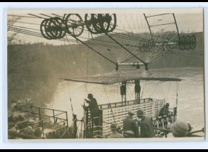 Y4960/ Schwebefähre Foto 1928 keine Ortsangabe