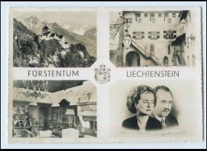 T3818/ Fürstentum Liechtenstein Fürst Franz Josef II und Fürstin AK