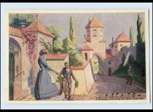 Y4928/ Lieder AK Daheim - Daheim ist doch daheim - Verlag: Kistner , ca.1920