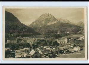 T3889/ Schuls Scuol Graubünden Foto AK 1929