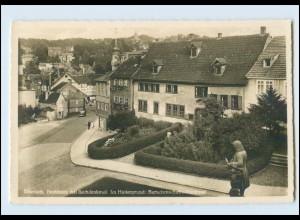 T3078-998./ Eisenach Bachhaus mit Bachdenkmal 1940 Foto AK