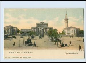 T4139/ Constantinople Tour du Seras Kierat Türkei Turkey AK ca. 1900
