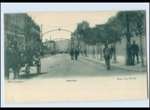 T4141/ Athen Rue du Stade Griechenland Greece AK ca.1905