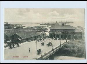 T4157/ Colombo Hafen Ceylon AK ca.1910