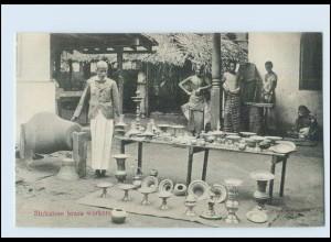 T4176/ Sinhalese brass workers Ceylon AK ca.1910