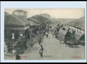 T4167/ Colombo Pettah Street Ceylon AK ca.1910