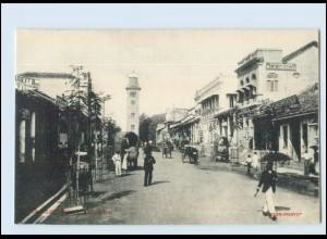 T4166/ Colombo Chatham Street Ceylon AK ca.1910