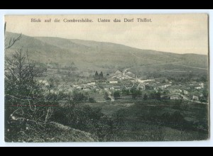 T4233/ Combreshöhe Dorf Thillot Frankreich Lothringen AK 1915