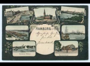 Y5265/ Hamburg schöne Mehrbild AK 1905