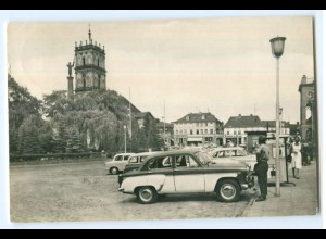T4268-172./ Neustrelitz Marktplatz AK 1965