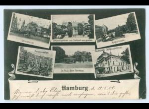 Y5259/ Hamburg schöne AK 1908