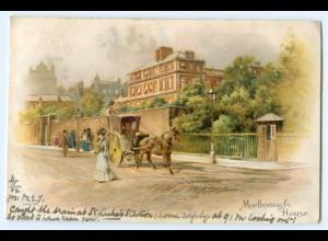 T4770/ Großbritannien Marlborough House 1902 Litho AK