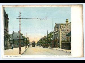 T4525/ Gateshead Low Fall Tramway Straßenbahn AK ca.1910 Großbritannien