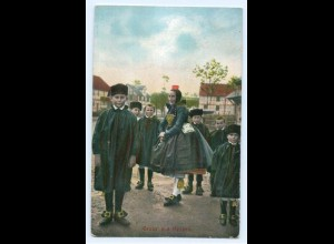 T4559/ Trachten Hessen AK 1907 Verlag: Bäcker