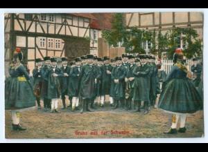 Y5217/ Schwalm Trachten AK Verlag: S. Bäcker 1909