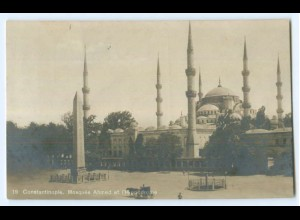 T4749/ Constantinople Moschee Ahmed Foto AK 1918