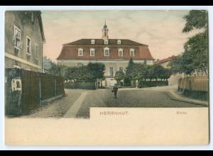 T4625-027./ Herrnhut Kirche AK 1905