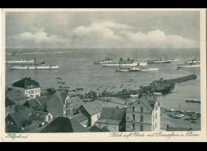 Y5468/ Helgoland Schiffe AK 1931