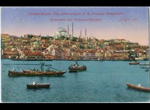 T4858/ Constantinople Soliman-Moschee AK Türkei 1918
