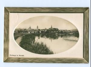 T5087-3440/ Eschwege im Werratal Rudern Foto AK 1910