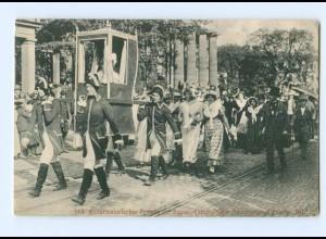 T5085/ Kassel Histor. Festgzug 1000 Jahrfeier AK 1913
