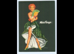 Y5527/ Miss Tango schöne AK sign: Berca Musik Pin Up ca.1960 Tanzen