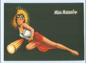 Y5526/ Miss Mambo schöne AK sign: Berca Musik Pin Up ca.1960 Tanzen